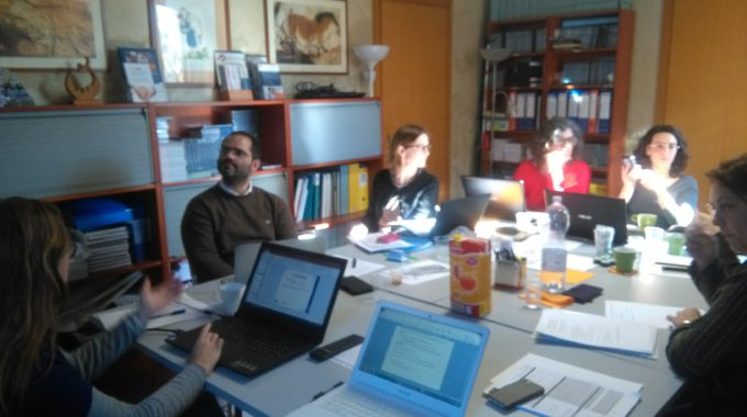Project's Kick Off Meeting In Carpi (Italy)