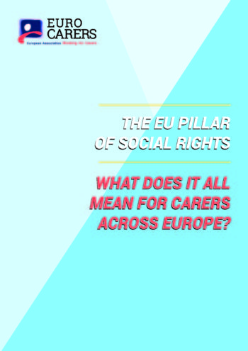 The EU Pillar Of Social Rights – What Does It Mean For Carers Across Europe?