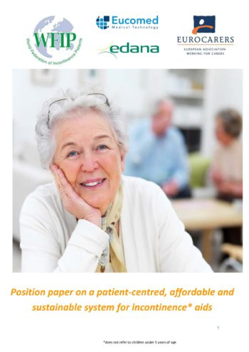 Position Paper On A Patient-centred, Affordable And Sustainable System For Incontinence Aids