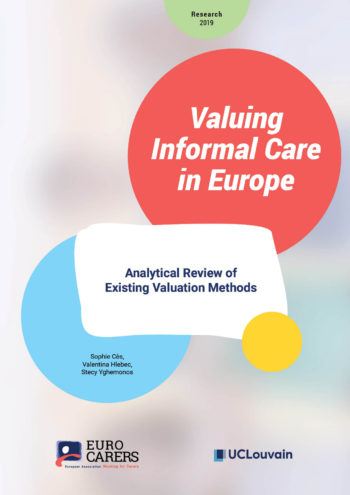 Valuing Informal Care In Europe