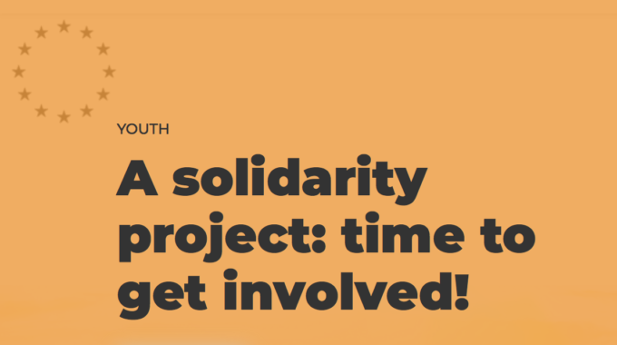 Offer European Youth A Perspective, Offer Them A Job Placement Via The European Solidarity Corps!