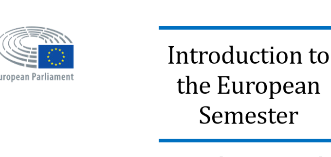EPRS – Introduction To The European Semester: Coordinating And Monitoring Economic And Fiscal Policies In The EU
