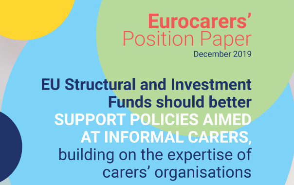 Launch Of Eurocarers' Position Paper On The European Social And Investment Funds