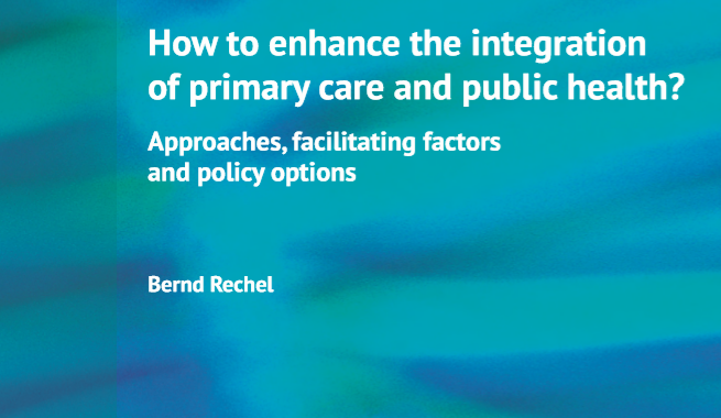 How To Enhance The Integration Of Primary Care And Public Health?