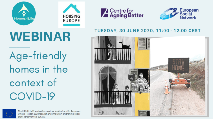 Webinar 30 June 2020 | Age-friendly Housing In The Context Of The COVID-19 Crisis