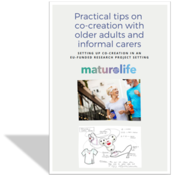 Practical Tips On Co-creation With Older Adults And Informal Carers