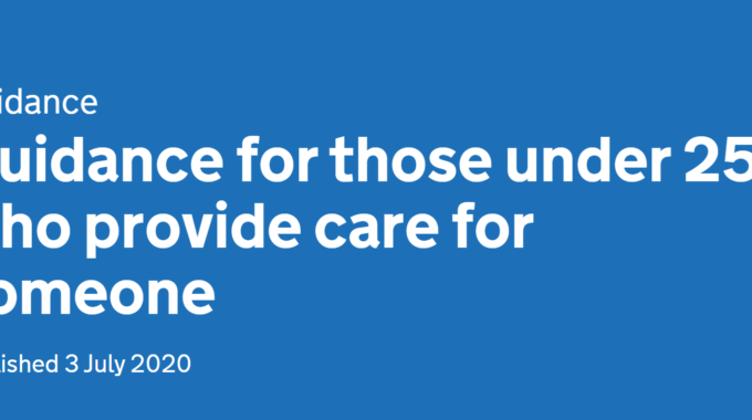 Guidance For Those Under 25 Who Provide Care For Someone