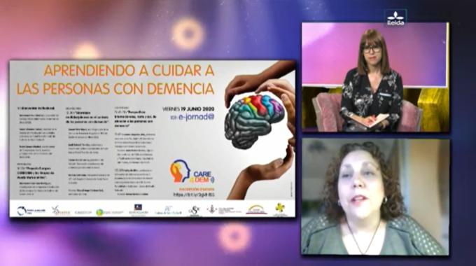 Care4Dem On TV In Spain