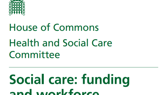 Carers UK Responds To Health And Social Care Committee Report On Social Care Funding