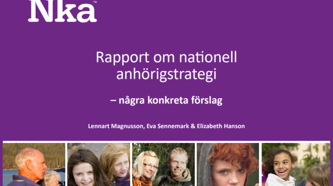Laying The Foundation For A National Carers Strategy In Sweden