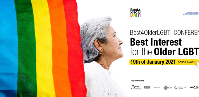 Register To The Best4OlderLGBTI Online Conference, On 19 January 2021 From 10.00 To 14.00 CET
