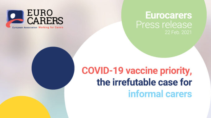 COVID-19 Vaccine Priority: The Irrefutable Case For Informal Carers