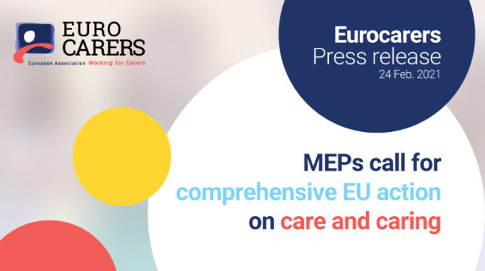 MEPs Call For Comprehensive EU Action On Care And Caring