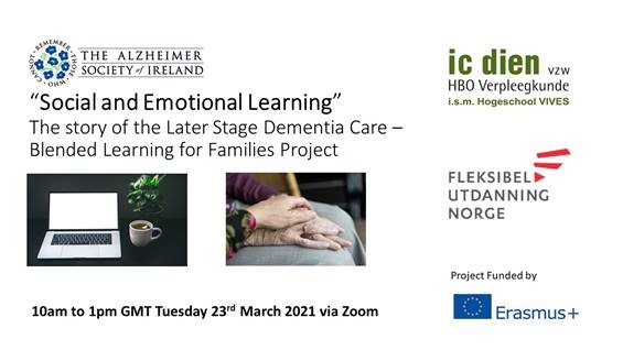 Supporting Informal Carers Around Later Stage Dementia Care: Online Event On 23rd March