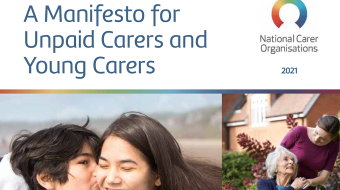 Manifesto's For Unpaid Carers And Young Carers