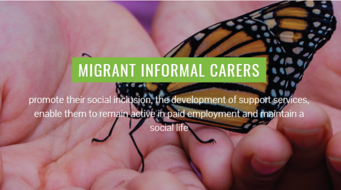 CO.S.M.I.C – Community Support To Migrant Informal Carers, A Group Which Is At Double Risk Of Exclusion, Discrimination And Stigmatization.