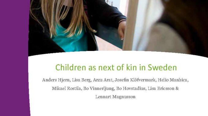 Children As Next Of Kin In Sweden