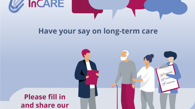 Launch Of InCARE Survey On Long-term Care: We Need You!